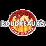 This is the restaurant logo for Boudreaux's Cajun Kitchen
