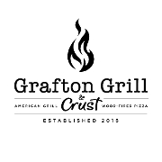 This is the restaurant logo for Grafton Grill & Crust