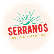 This is the restaurant logo for Serranos