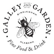 This is the restaurant logo for Galley and Garden