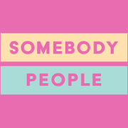 This is the restaurant logo for Somebody People