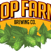 This is the restaurant logo for Hop Farm Brewing Company