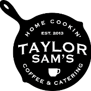 This is the restaurant logo for Taylor Sam's