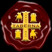 This is the restaurant logo for Taberna Tapas Bar