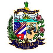 This is the restaurant logo for Estefan Kitchen