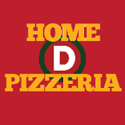 This is the restaurant logo for Home D Pizzeria