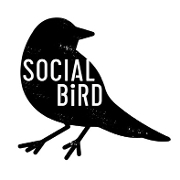 This is the restaurant logo for Social Bird