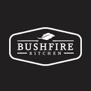 This is the restaurant logo for Bushfire Kitchen