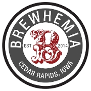 This is the restaurant logo for BREWHEMIA