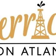 This is the restaurant logo for Derricks on Atlantic
