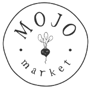 This is the restaurant logo for Mojo Market