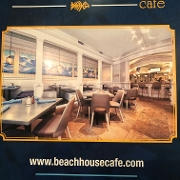 This is the restaurant logo for Beach House Cafe
