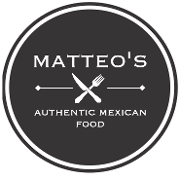 This is the restaurant logo for Matteo's Mexican Food- 1001 E. UNIVERSITY AVE