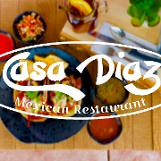 This is the restaurant logo for Casa Diaz Mexican Restaurant