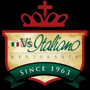 This is the restaurant logo for V's Italiano Ristorante