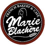 This is the restaurant logo for Marie Blachere