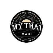 This is the restaurant logo for MY THAI MAUI