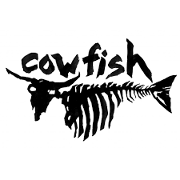 This is the restaurant logo for Cowfish
