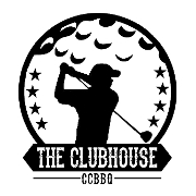 This is the restaurant logo for The Clubhouse Indoor Golf