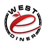 This is the restaurant logo for West E Diner