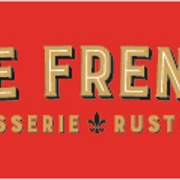 This is the restaurant logo for The French