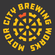 This is the restaurant logo for Motor City Brewing Works