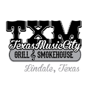 This is the restaurant logo for Texas Music City Grill & Smokehouse-Lindale
