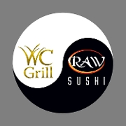 This is the restaurant logo for Willowcreek Grill & Raw Sushi