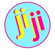This is the restaurant logo for jiji frozen custard