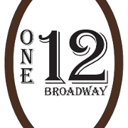 This is the restaurant logo for 112 On Broadway
