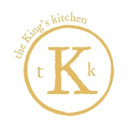 This is the restaurant logo for Kings Kitchen