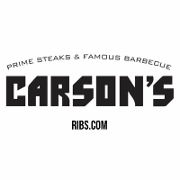 This is the restaurant logo for Carson's Ribs