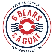 This is the restaurant logo for 6 Bears & A Goat Brewing Co.
