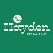This is the restaurant logo for The Hayden