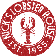 This is the restaurant logo for Nick's Lobster House