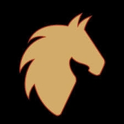 This is the restaurant logo for Painted Pony Restaurant
