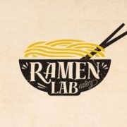 This is the restaurant logo for Ramen Lab Eatery Delray