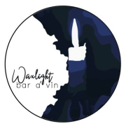 This is the restaurant logo for Waxlight Bar à Vin