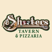 This is the restaurant logo for Shooter's Tavern