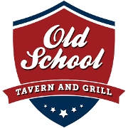 This is the restaurant logo for Old School Tavern