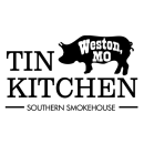 This is the restaurant logo for TIN KITCHEN