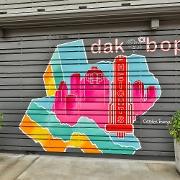 This is the restaurant logo for Dak & Bop
