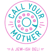 This is the restaurant logo for Park View – Call Your Mother Deli