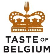 This is the restaurant logo for Taste of Belgium