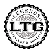 This is the restaurant logo for Legends Tavern & Grille
