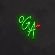 This is the restaurant logo for Our Green Affair