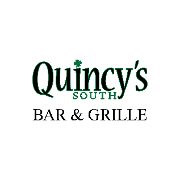 This is the restaurant logo for Quincy's South Bar & Grille