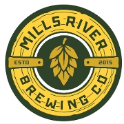 This is the restaurant logo for Mills River Brewing Co. / Juju's Craft Cookery