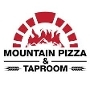 This is the restaurant logo for Mountain Pizza & Taproom