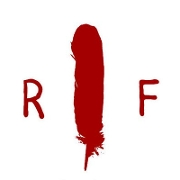 This is the restaurant logo for Red Feather